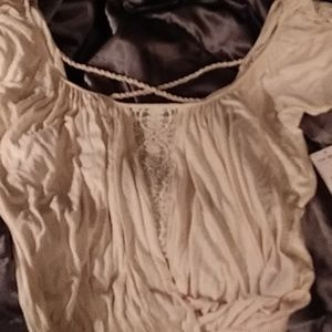 Free people gathered top in xs